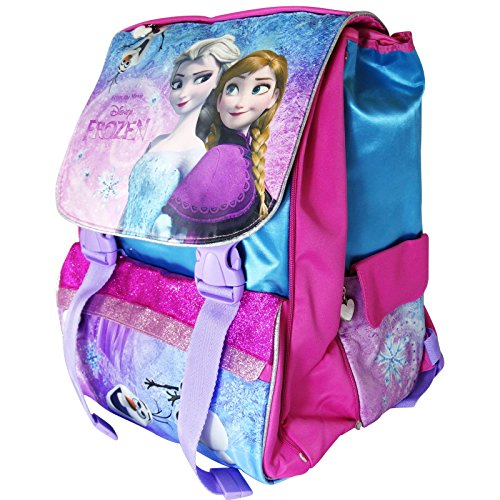orologio bf138 51742 Disney Frozen Elsa e Anna Zaino Estensibile Scuola ...
