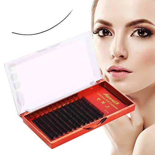 Semme Fake Eyelash, Handmade Waterproof 3D Natural Fashion Long Eyelash Extensions Eye Makeup Tool (0.15 B 12mm)