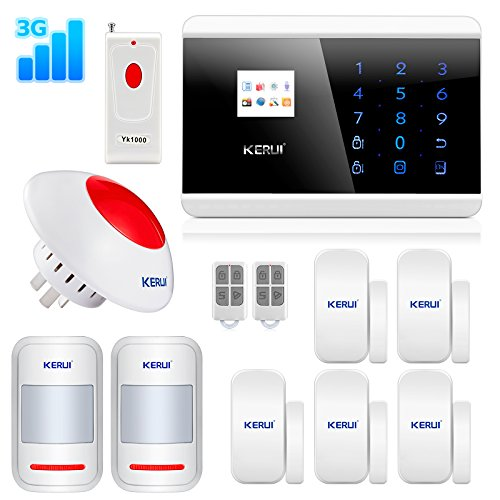 KERUI Wireless Security KR 8219G Flashing product image