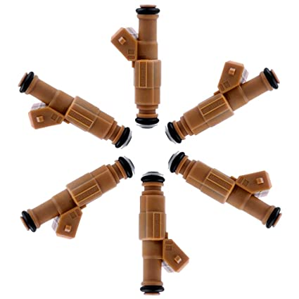 Amazon Com Ocpty Fuel Injector 6pcs 4 Holes Replacement Fuel