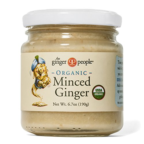 The Ginger People Organic Minced Ginger Made in Fiji, 6.7 Ounce (Pack of 12) by The Ginger People