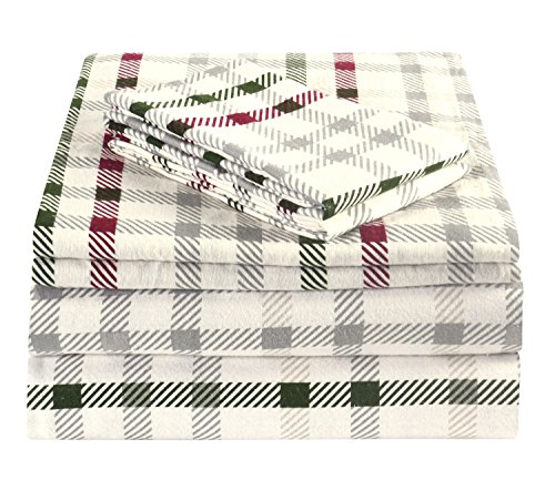 Brielle 100 Percent Cotton Flannel CrissCross