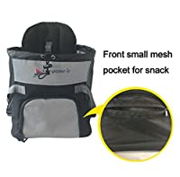 Eugene's Front Pet Carrier, Travel Bag, Adjustable Dog Carrier, Adjustable Cat Carrier.Hands-free Adjustable Pet Carrier.