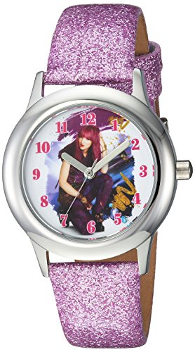 DISNEY Girl's Descendants 2' Quartz Stainless Steel Casual Watch, Color:Purple (Model: WDS000247) by Disney (Image #4)