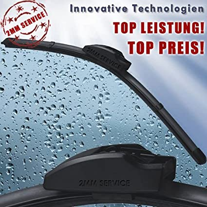 Inion Good Wiper Mit Adapter 1 Set 600 350 Mm Scheibenwischer F3 Flachbalkenwischer Wischerblatt Scheibenwischerblatt Multi Line Auto