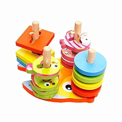 Buy 2 In 1 Shapes Sorter Twister And Magnetic Fish Game