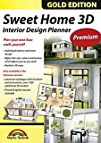 Software : Sweet Home 3D Premium Edition - Interior Design Planner with an additional 1100 3D models and a printed manual, ideal for architects and planners - for Windows 10-8-7-Vista-XP & MAC
