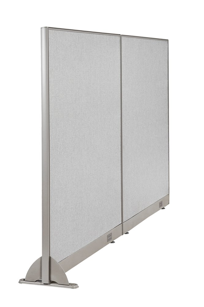 GOF Wall Mounted Office Partition, 84W x 60H / Office Panel, Room Divider (84W x 60H)