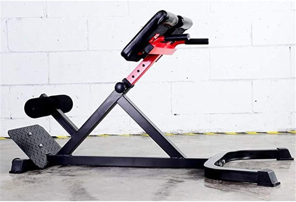 Black/&Red Support 300kg Adjustable Benches Back Hyperextension Bench Fitness Equipment Roman Chair Abdominal Bench Ab//Back Extension//Multi-Workout Home Gym