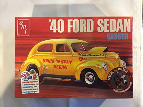 Price comparison product image 1 / 25 AMT 1940 Ford Sedan Gasser Model Kit - 1088