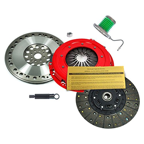 EFT STAGE 1 CLUTCH KIT+PROLITE FLYWHEEL FOR 11-14 FORD MUSTANG GT 5.0L BOSS 302