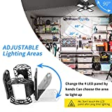 120W LED Garage Lights, 12000 Lumens Deformable New