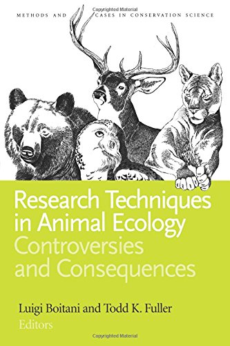 - Research Techniques in Animal Ecology