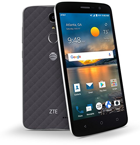 Zte Blade Spark Unlocked 4G LTE Fingerprint Reader 5.5 inch 13mp Flash 16GB Quad Core Unlocked Z971 Desbloqueado (Unlocked Gsm Phones Android)