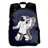 Astronaut Functional Design For Kids School Backpack Children Bookbag Perfect For Transporting For Traveling In 4 Season