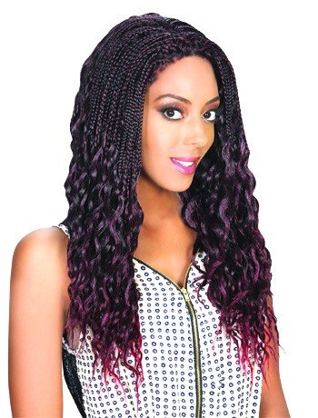 Zury Sis (Afro Lace Braid) Lace Front JERRY