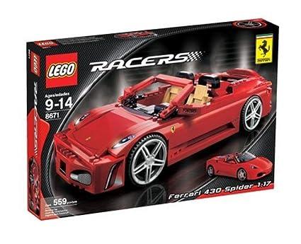 Amazoncom Lego Racers Ferrari 430 Spider Toys Games