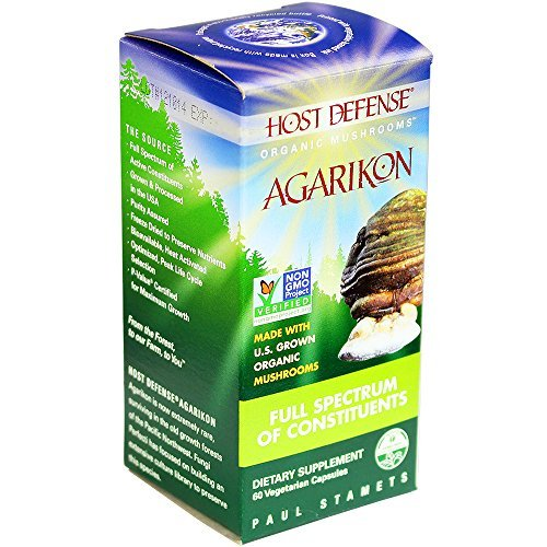 Host Defense - Agarikon Capsules, Full Spectrum of Constituents, 60 count by Host Defense