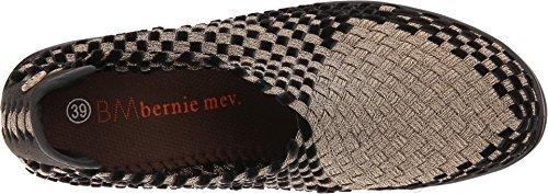 Bernie Mev. Women's Chesca Bronze/Black Velvet 5.5 B(M) US M