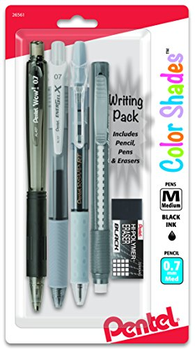 Pentel Color Shades Writing Pack