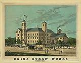 Photo Union Straw Works, Foxboro Mass.