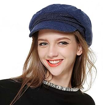 4d38fb934094d EINSKEY Gorra Boinas Mujer Francesas para Primavera y Invierno  Amazon.es   Ropa y accesorios