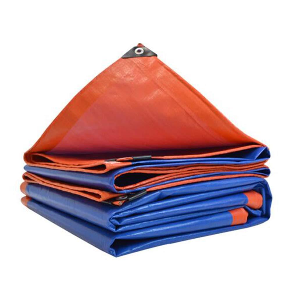 Dall Persenning Plane Draussen Camping Poncho Wasserdicht Sonnencreme Überdachung Multi-Größe (Farbe   Blau, größe   6  8m)