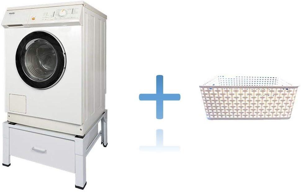 Korb Profi Waschmaschine Trockner Untergestell Unterbau Erh/öhung Podest Waschmaschinenpodest