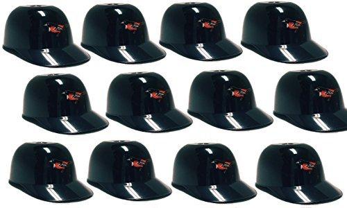 MLB Mini Batting Helmet Ice Cream Sundae/ Snack Bowls, Orioles - 12 Pack - Replica Mini Batting Helmet