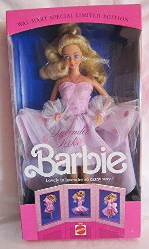 1989 Barbie (Lavender Looks Barbie Doll - Wal-Mart Special Limited Edition (1989 Mattel Hawthorne))