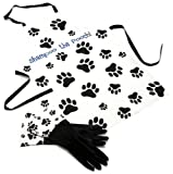 DII Shampoo the Pooch Apron and Rubber Glove Dog Grooming Set