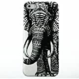 Elephant Pattern Hard Case for iPhone 5/5S