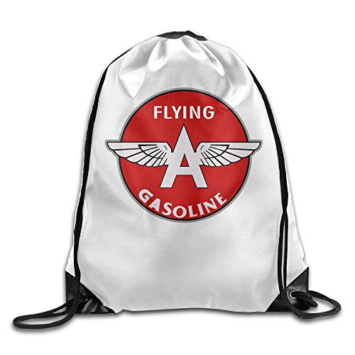 Price comparison product image Flying A Gasoline Crystal Symbol Travel Drawstring Backpack