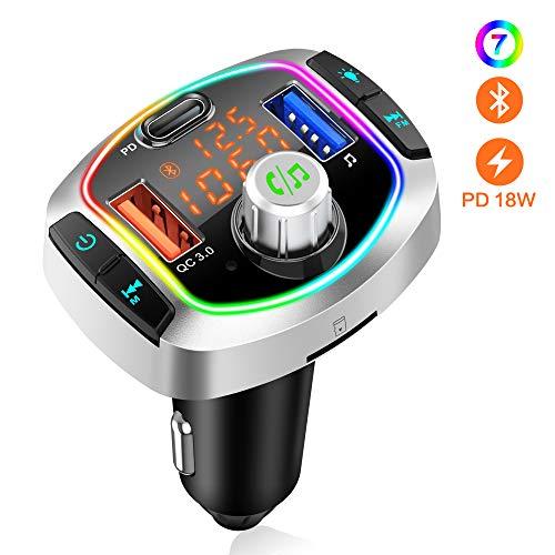 🥇 Transmisor FM Bluetooth V5.0
