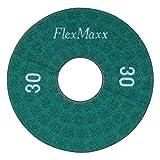 FlexMaxx 5‑Inch Concrete Polishing Pads, Coarse, 30 Grit