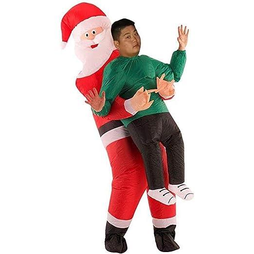 soundwinds Disfraz Inflable para Adultos Navidad Papá Noel Abrazo ...