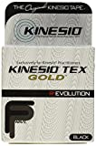 Kinesio Tex Gold FP 2' x 16.4' Black Single Roll