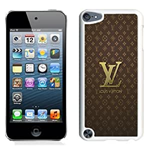 NEW Unique Custom Designed iPod Touch 5 Phone Case With Louis Vuitton Logo_White Phone Case