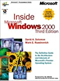 img - for Inside Microsoft Windows 2000, Third Edition (Microsoft Programming Series) book / textbook / text book