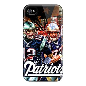 Premium OVz11137KPUE Cases With Scratch-resistant/ New England Patriots Cases Covers For Iphone 6plus