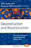 Deconstruction and Reconstruction 9789042016811