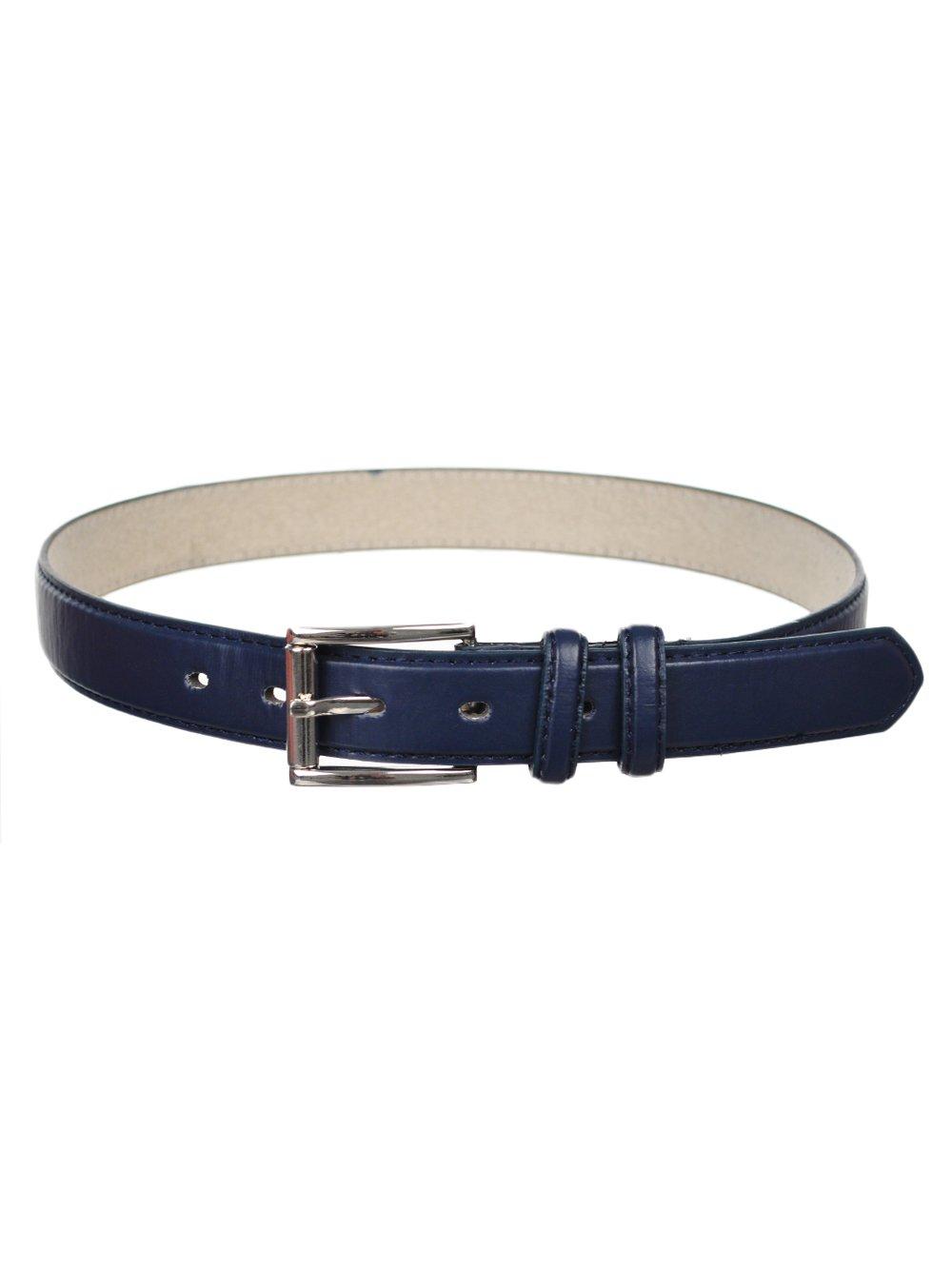Mario Lorenzi Big Boys' Belt - black, 24 24