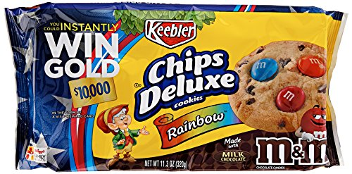 Keebler, Chips Deluxe Rainbow Cookies, 11.3 Ounce