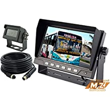 """7"""" Digital Rear View Backup Reverse Camera System Cab Observation Cam System Kit for Truck, Tractor, Agriculture Equipments, Rv"""
