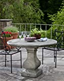 Campania International T-110-AS Vence Table, Alpine Stone Finish