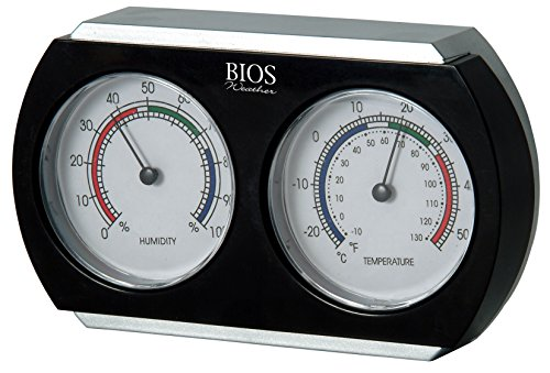 Price comparison product image BIOS Indoor Thermometer and Hygrometer