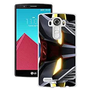 Fashionable And Unique Designed Cover Case With Mazinger Z White For LG G4 Phone Case