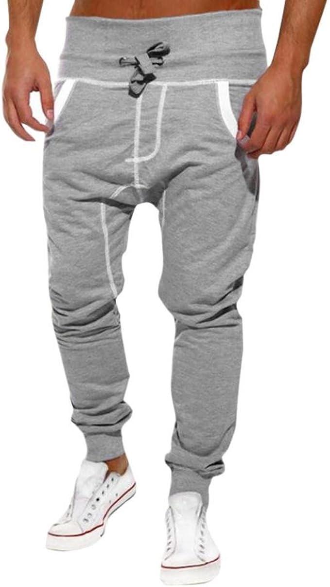 Pantalones Hombre, Dorame Pantalones Casual Sport Jogger de ...