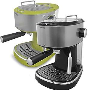 Kaffemaschine Espressomaschine Cappuccino Espresso Automat Milchaufschäumer 2...