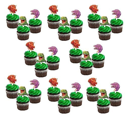 Dinosaur Party Cupcake Toppers Picks (24 ct) -